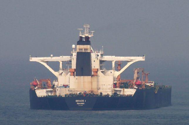 Irański tankowiec miał transportować ropę do Syrii