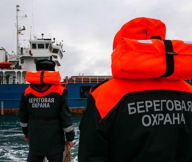 Tankowiec miał blokować ukraińskie okręty
