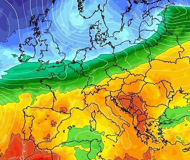 Pogoda. Od poniedziałku w Polsce nastąpi pogorszenie aury za sprawą niżu Wilhelm