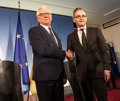 Jacek Czaputowicz i Heiko Maas