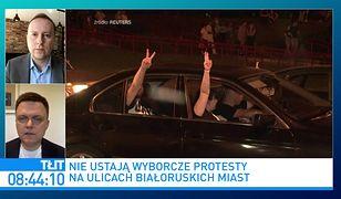 """""""Białoruś w Polsce może się powtórzyć"""". Szymon Hołownia podaje jedno """"ale"""""""