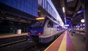 Pociąg Intercity śmiertelnie potrącił człowieka