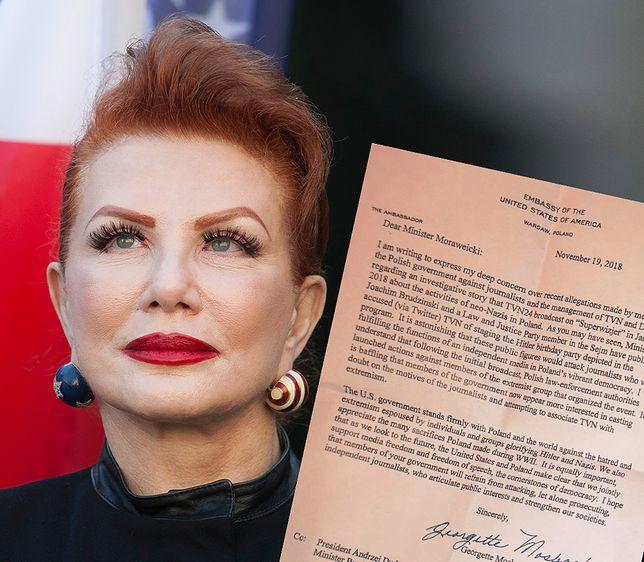 Georgette Mosbacher walczy o interesy amerykańskich firm w Polsce. Zdaniem polityków PiS - za ostro