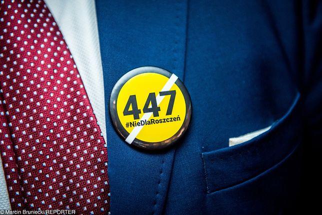 Ustawa 447 Just stała się tematem w kampanii europejskiej w Polsce.