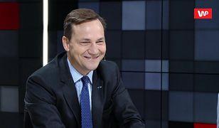 """Radosław Sikorski: """"Tusk byłby prawdziwym prezydentem"""""""