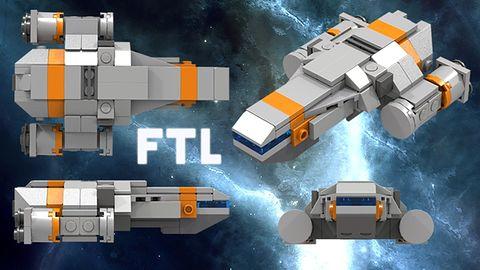 Po co komu LEGO Star Wars, skoro można mieć LEGO FTL?