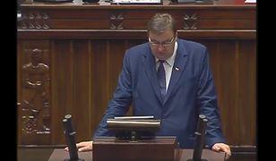 Szymon Giżyński w Sejmie