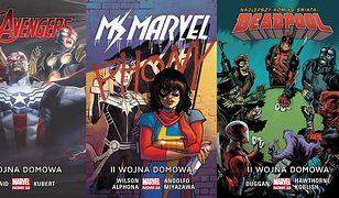 """Avengers, Ms Marvel i Deadpool dołączyli do """"II Wojny domowej"""""""
