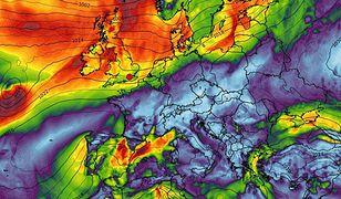 Pogoda wariuje nad Europą