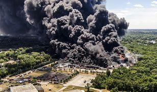 USA. Pożar fabryki chemikaliów. Zarządzono ewakuację