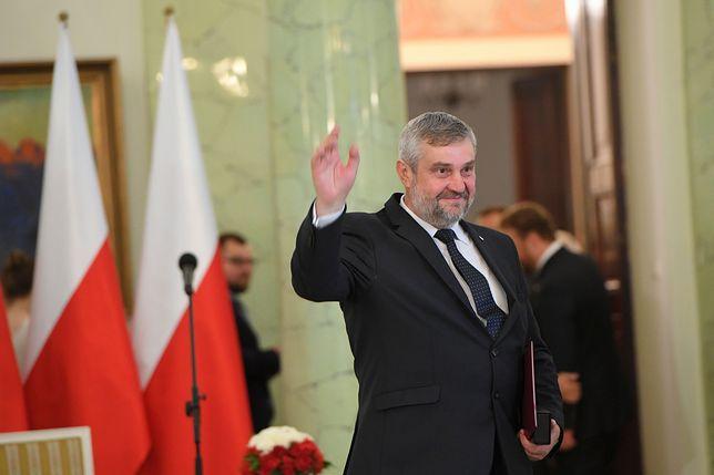 Jan Krzysztof Ardanowski od 20 czerwca jest ministrem rolnictwa