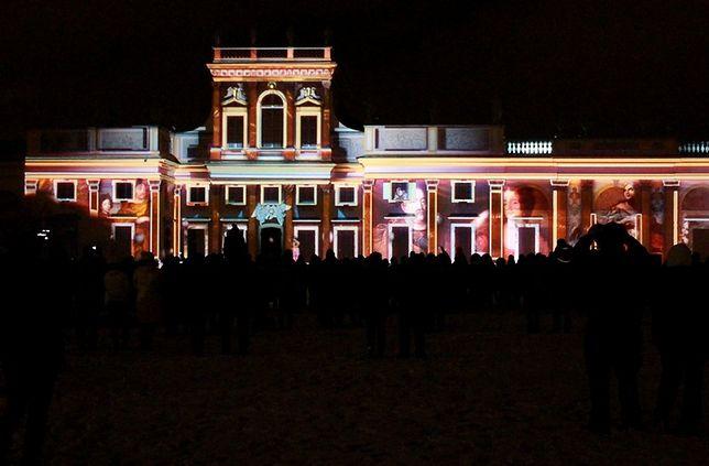 III Królewski Festiwal Światła w Wilanowie