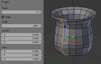 Spin - figura obrotowa dla 17 kroków