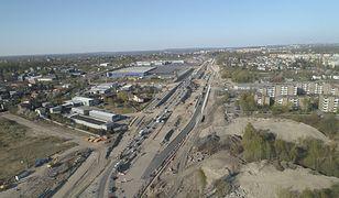 Przebudowa skrzyżowania DK 94 i ul. Długosza w Sosnowcu zbliża się do końca.