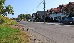 Ulica Kukułek w Sosnowcu.