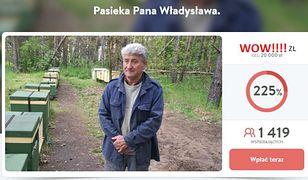 Rekordowa zbiórka na pasiekę Pana Władysława