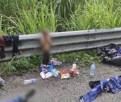 Meksyk. Dwuletni chłopiec znaleziony przy ciężarówce przewożącej imigrantów