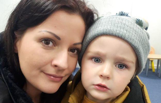 Aneta i jej synek Harry