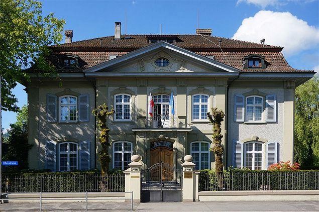 Atak na ambasadę PRL w Szwajcarii