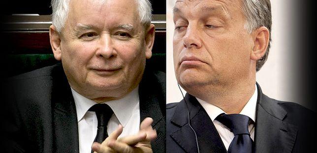 Jarosław Kaczyński i Viktor Orbán
