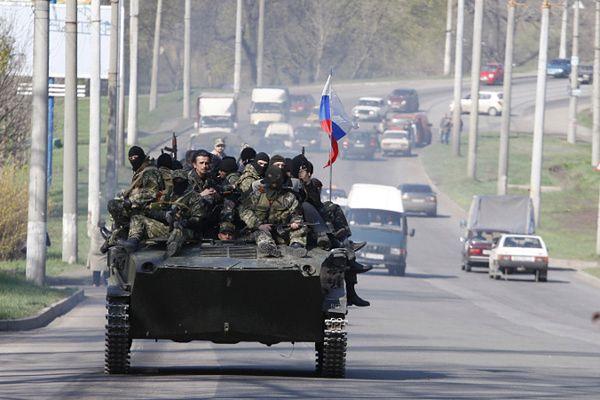 Prorosyjskie siły w Kramatorsku