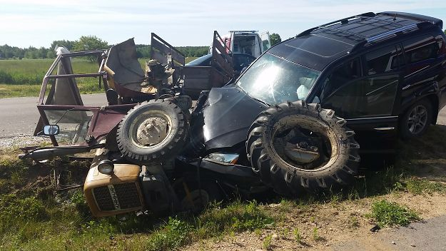 Włodzimierz Cimoszewicz miał wypadek