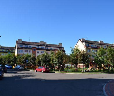 Jedno z osiedli mieszkaniowych w Stępnicy w woj. zachodniopomorskim
