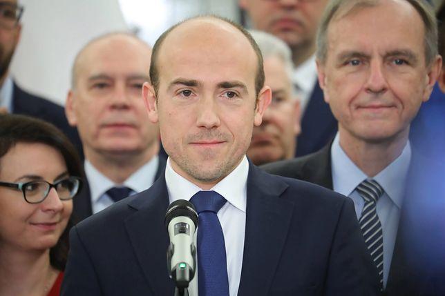 Szef klubu parlamentarnego PO Borys Budka