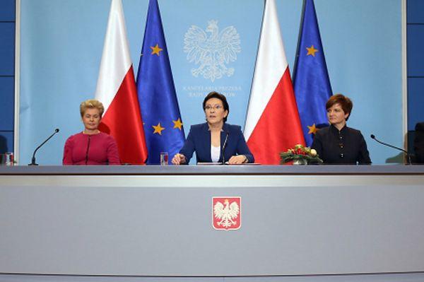 Premier: Małecka-Libera i Augustyn pełnomocniczkami rządu. A opozycja nie jest kadrowym