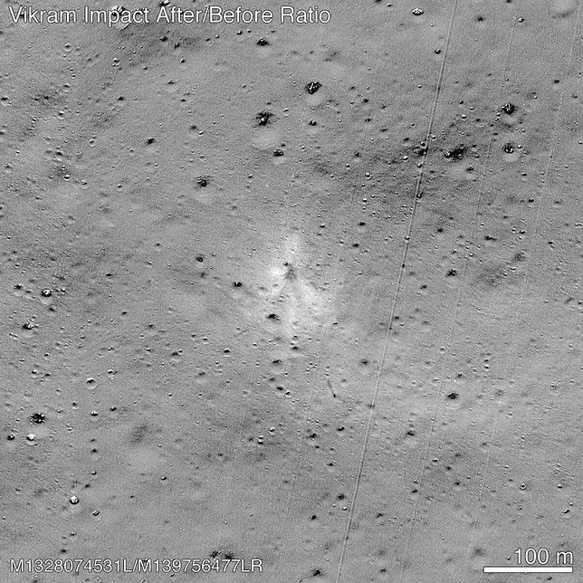 Szczątki lądownika Vikram zostały odnalezione