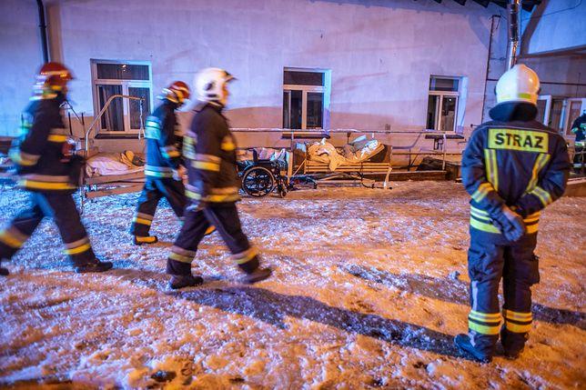 Pomorskie. Pożar w hospicjum w Chojnicach wybuchł w nocy, zginęły 4 osoby