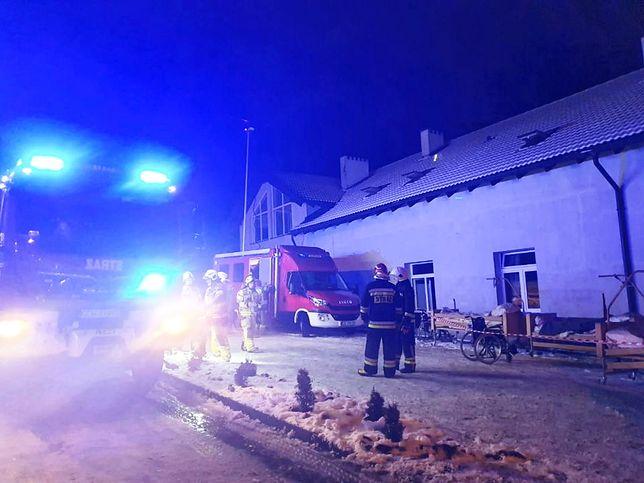 Chojnice. Straż pożarna o szczegółach akcji ratunkowej.