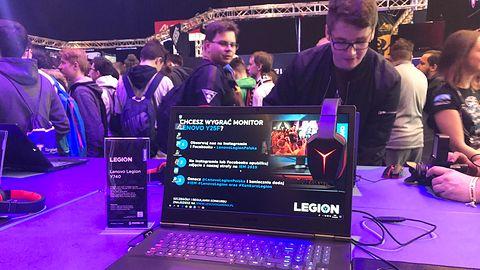 Lenovo Legion na IEM 2019: przystępny notebook z GeForce RTX i jeden monitor zamiast dwóch