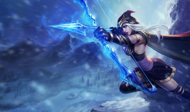 Ashe - postać z League of Legends