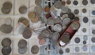 To nawet kilkaset monet z różnych okresów i z różnych krajów.