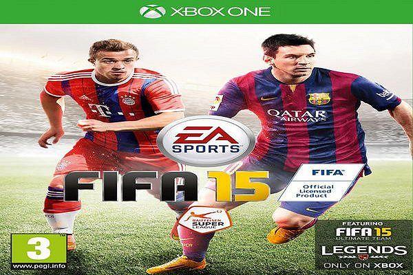 Wydanie gry FIFA 15 na konsole Xbox One