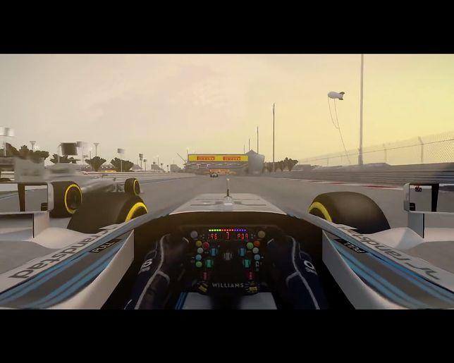 Screen z trailera gry F1 2014