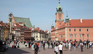 Pogoda. Warszawa. W poniedziałek 14 st. C