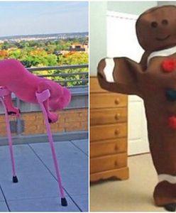 Miał 10 lat, gdy nowotwór zabrał mu nogę. Dziś zachwyca pomysłami na... halloweenowe kostiumy