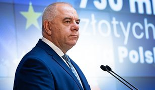 Jacek Sasin, szef Ministerstwa Aktywów Państwowych
