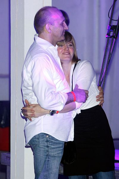 Isabel i Kazimierz Marcinkiewiczowie