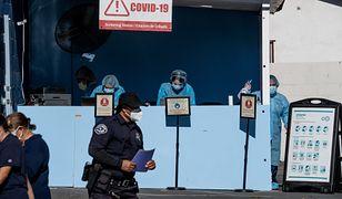 Koronawirus. USA. Pacjent z COVID-19 śmiertelnie pobił współlokatora z oddziału szpitalnego