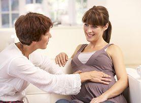 Kontakt z dzieckiem w ciąży