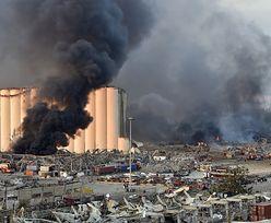 Wybuch w Bejrucie. Porównano zdjęcia sprzed i po eksplozji. Aż trudno uwierzyć