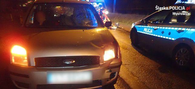 W Mysłowicach 80-letni mężczyzna zginął potrącony przez samochód.