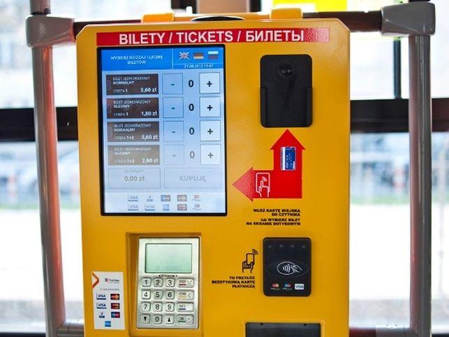 90 procent autobusów ma już biletomaty