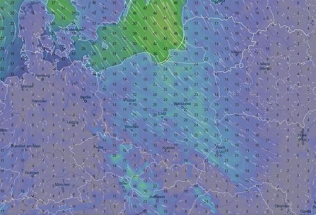 Prognoza Pogody na dziś – sobota 13 kwietnia.