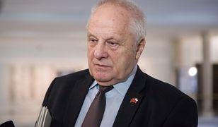 Stefan Niesiołowski ma usłyszeć zarzuty w piątek