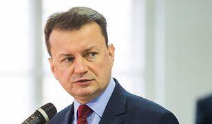 Szef MON Mariusz Błaszczak skrytykował Sławomira Broniarza z ZNP
