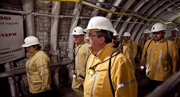 Prezydent do górników: składam wyrazy szacunku i uznania